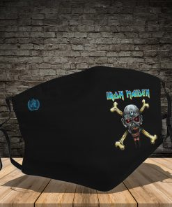 Rock band iron maiden full printing face mask 1