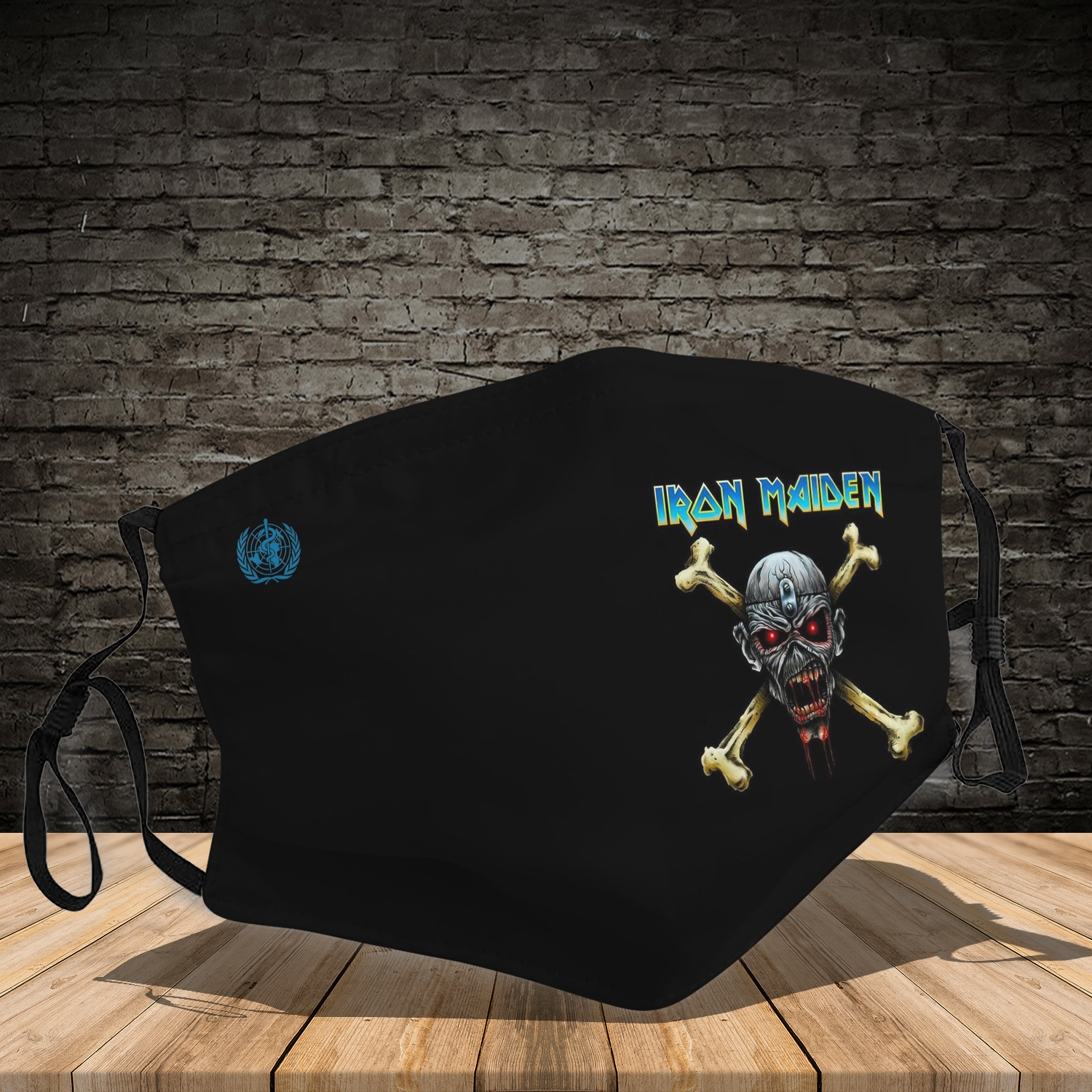 Rock band iron maiden full printing face mask 2
