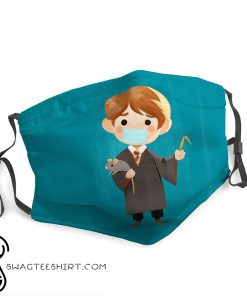 Ron weasley harry potter stay home face mask