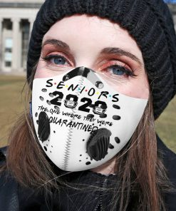 Senior 2020 the one where they were quarantined carbon pm 2,5 face mask 4