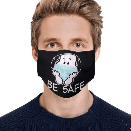 Snoopy be safe anti-dust cotton face mask 1