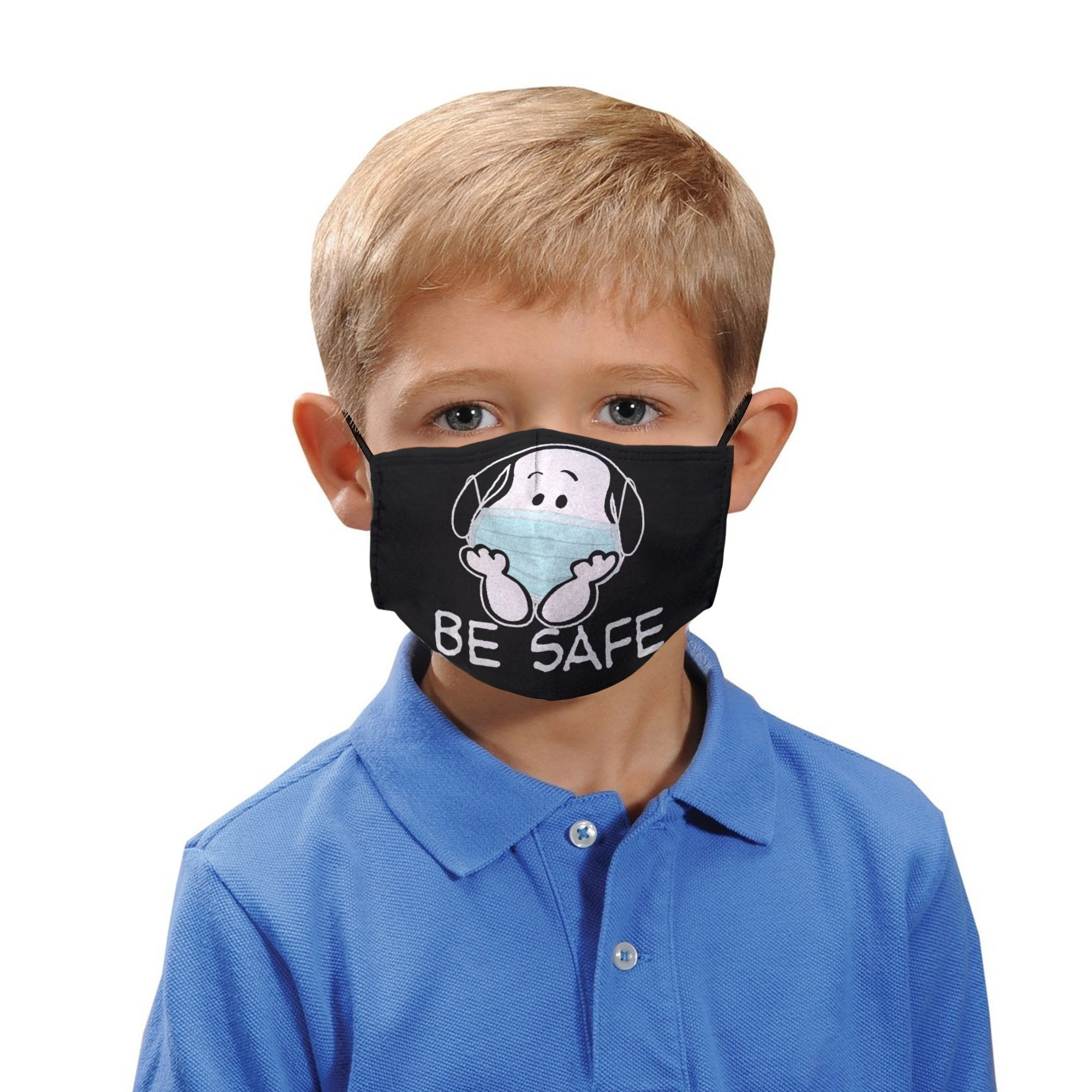 Snoopy be safe anti-dust cotton face mask 2