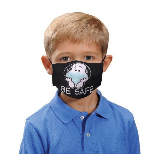 Snoopy be safe anti-dust cotton face mask 3