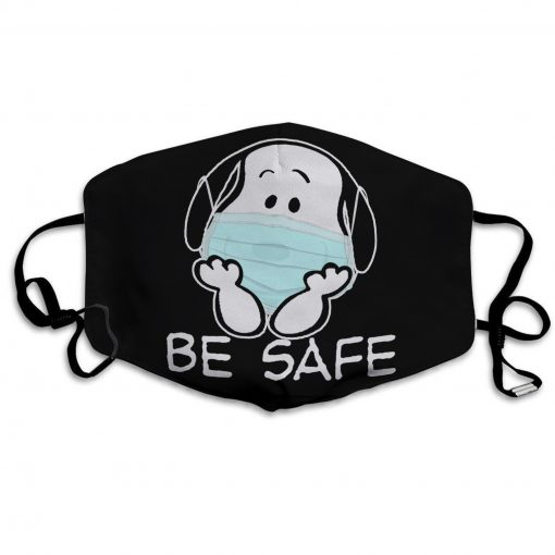 Snoopy be safe anti-dust cotton face mask 4