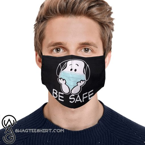Snoopy be safe anti-dust cotton face mask