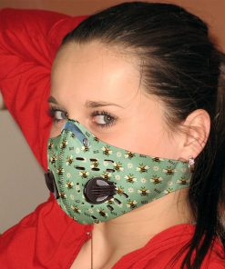 Spring bee carbon pm 2,5 face mask 3