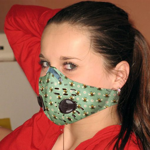 Spring bee carbon pm 2,5 face mask 4