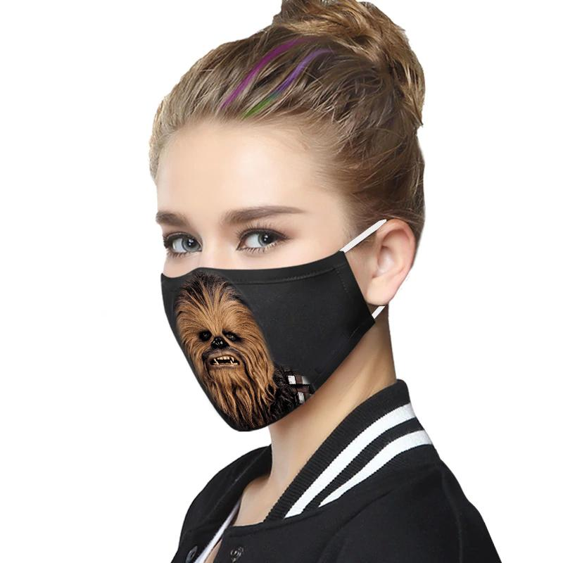 Star wars chewbacca anti-dust cotton face mask 1