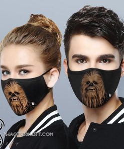 Star wars chewbacca anti-dust cotton face mask