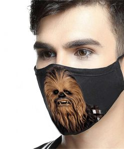 Star wars chewbacca anti-dust cotton face mask 4