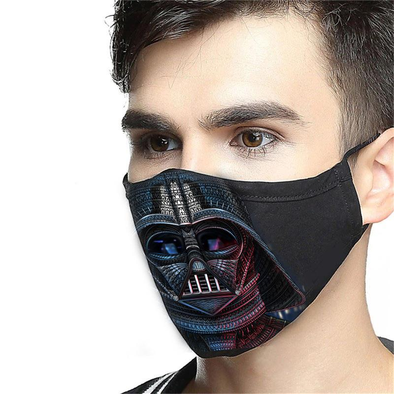Star wars darth vader anti-dust cotton face mask 3