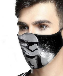 Star wars stormtrooper anti-dust cotton face mask 3