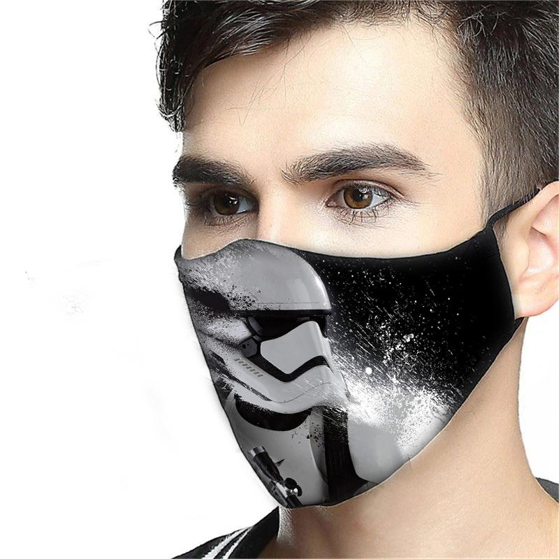 Star wars stormtrooper anti-dust cotton face mask 4