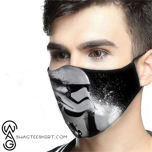 Star wars stormtrooper anti-dust cotton face mask