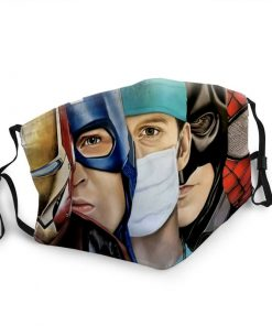 The avengers and doctor anti-dust face mask 1