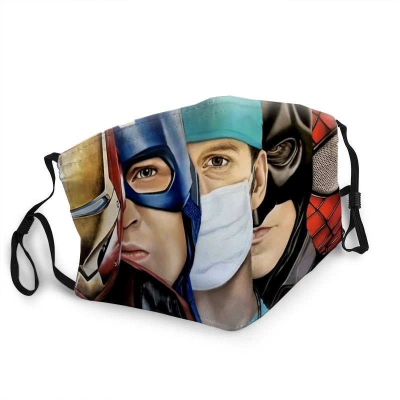 The avengers and doctor anti-dust face mask 2