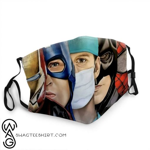 The avengers and doctor anti-dust face mask