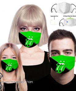 The rolling stones kawasaki full printing face mask