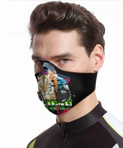 The tiger king carbon pm 2,5 face mask 3