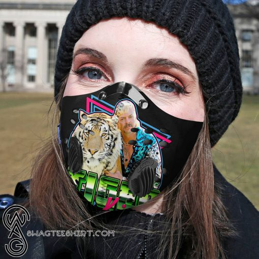 The tiger king carbon pm 2,5 face mask