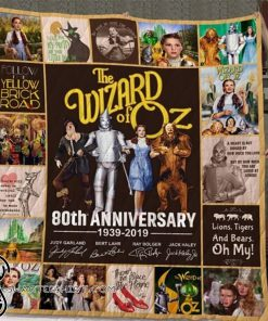 The wizard of oz 80th anniversary full printing quilt