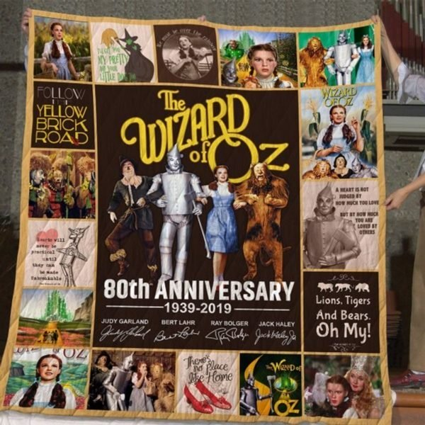 The wizard of oz 80th anniversary full printing quilt 3