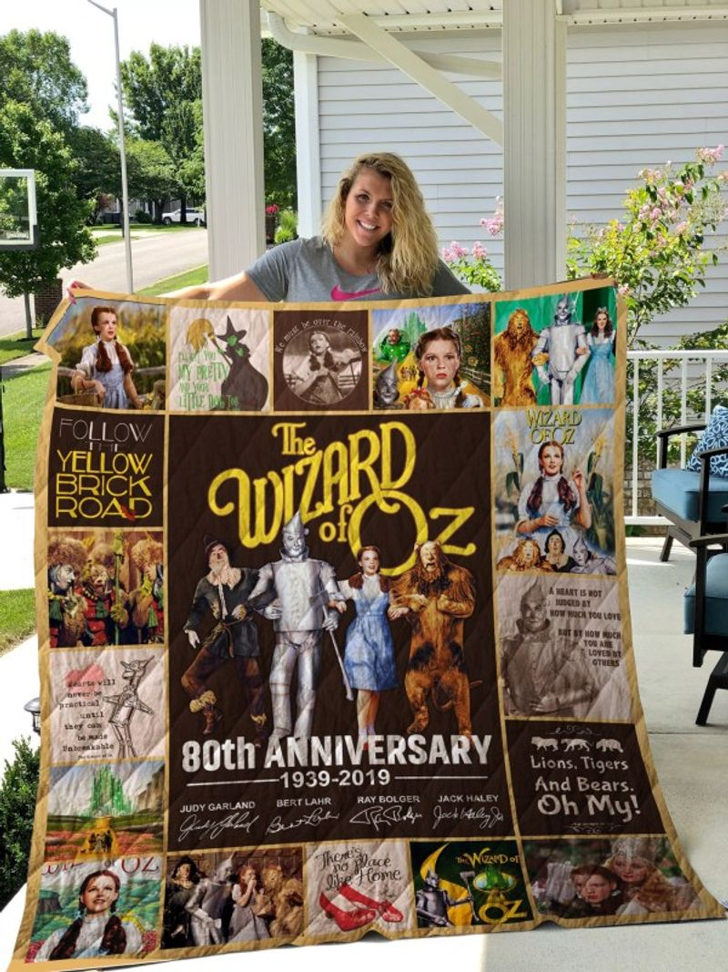 The wizard of oz 80th anniversary full printing quilt 4