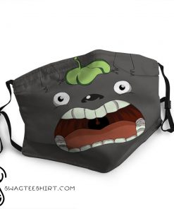 Totoro funny face anti-dust cotton face mask