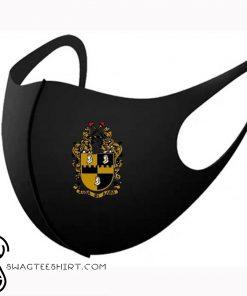 Alpha phi alpha symbols anti-dust cotton face mask