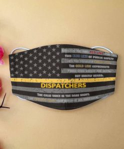 American flag dispatcher but mostly heard face mask 1
