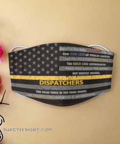 American flag dispatcher but mostly heard face mask