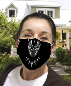 Black panther anti-dust cotton face mask 3