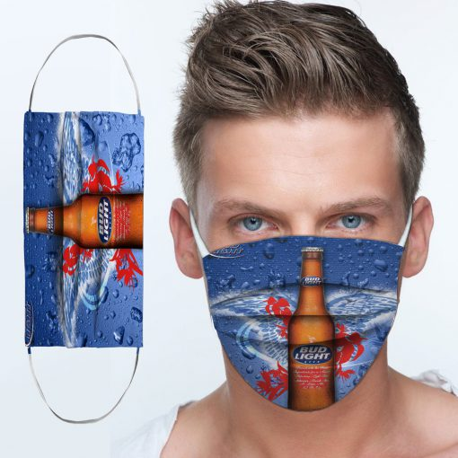 Bud light best light anti-dust cotton face mask 4