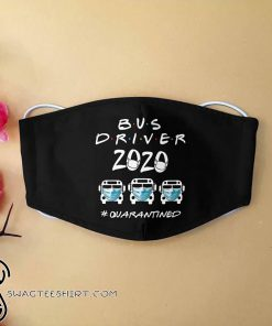 Bus driver 2020 quarantined anti-dust cotton face mask