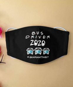 Bus driver 2020 quarantined anti-dust cotton face mask 3