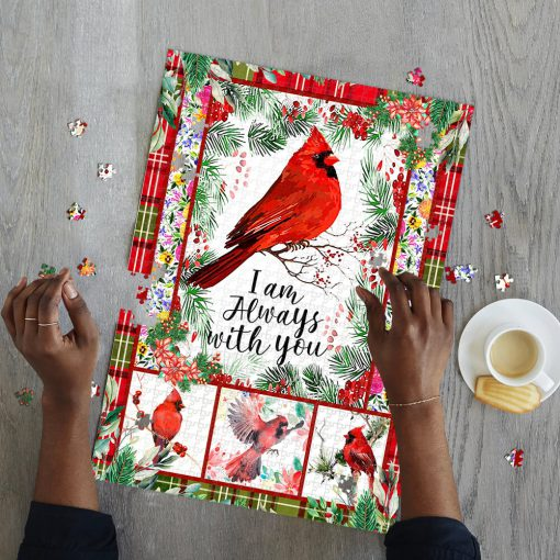 Cardinal i'm always with you jigsaw puzzle 2