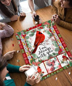 Cardinal i'm always with you jigsaw puzzle 3