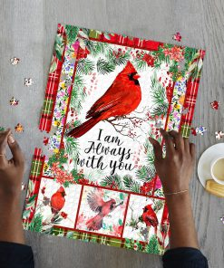 Cardinal i'm always with you jigsaw puzzle 4