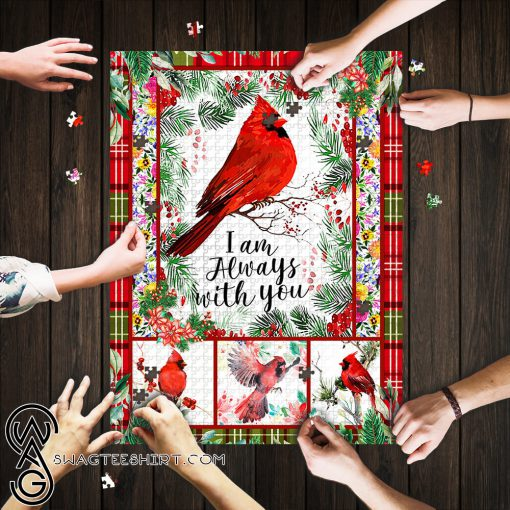 Cardinal i_m always with you jigsaw puzzle