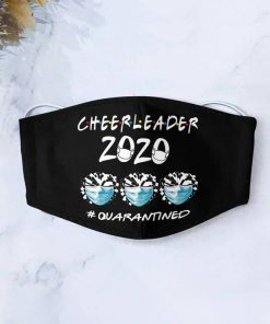 Cheerleader 2020 quarantined anti-dust cotton face mask 1