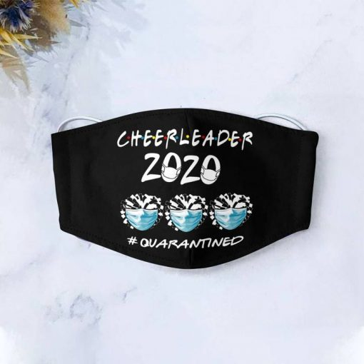 Cheerleader 2020 quarantined anti-dust cotton face mask 4