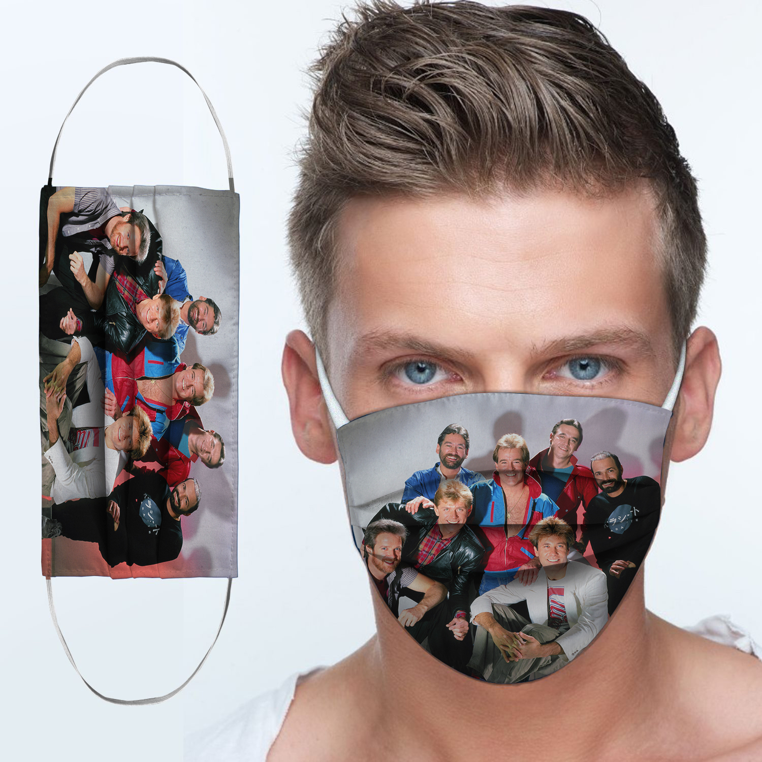 Chicago rock band anti-dust cotton face mask 4