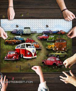 Classic volkswagen vans jigsaw puzzle