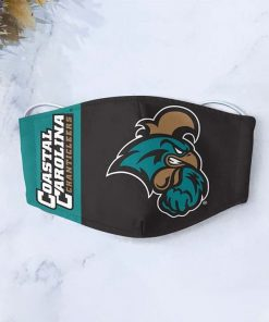 Coastal carolina chanticleers football anti-dust cotton face mask 2
