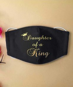 Daughter of a king anti-dust cotton face mask 1Daughter of a king anti-dust cotton face mask 1