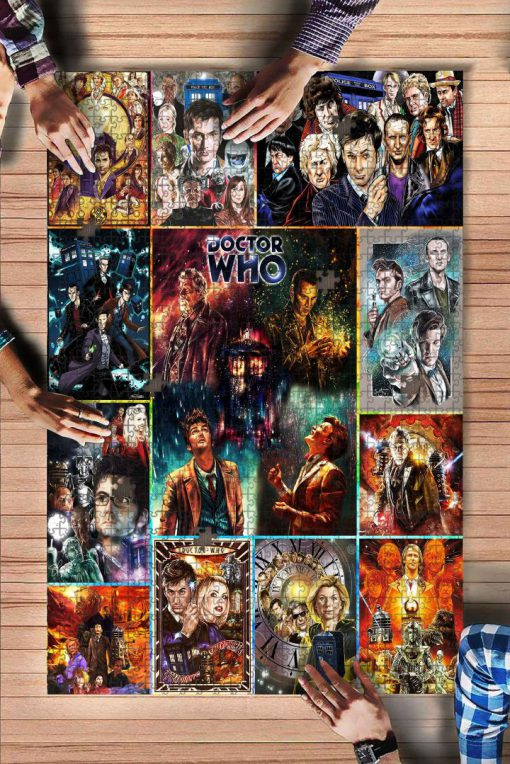 Doctor who tv series jigsaw puzzle 1