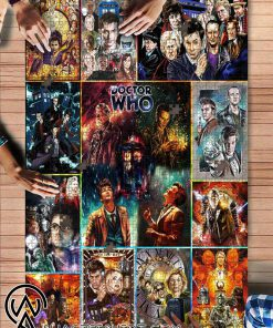 Doctor who tv series jigsaw puzzle