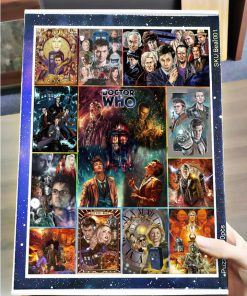 Doctor who tv series jigsaw puzzle 3