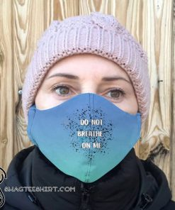 Don_t breathe on me anti-dust cotton face mask