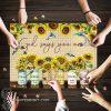 God says you are Sunflower Hummingbirds jigsaw puzzle